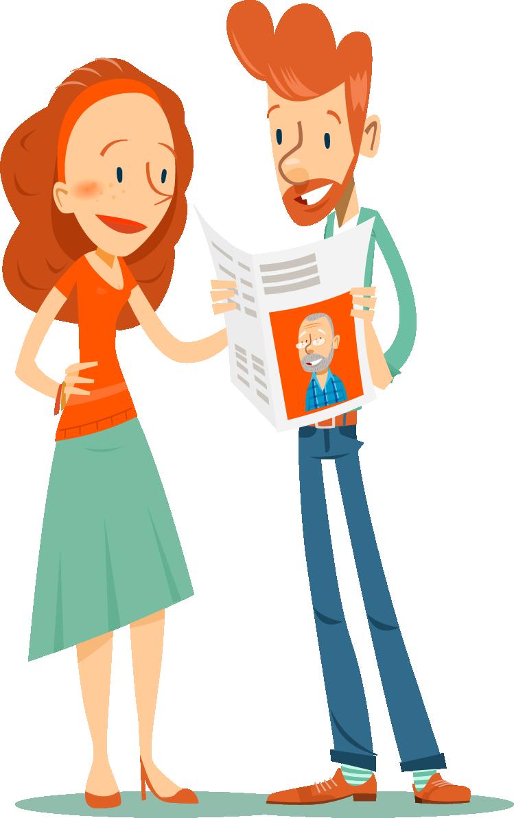 contact houden tijdens de coronacrisis met zelfgemaakte krant - Happiedays