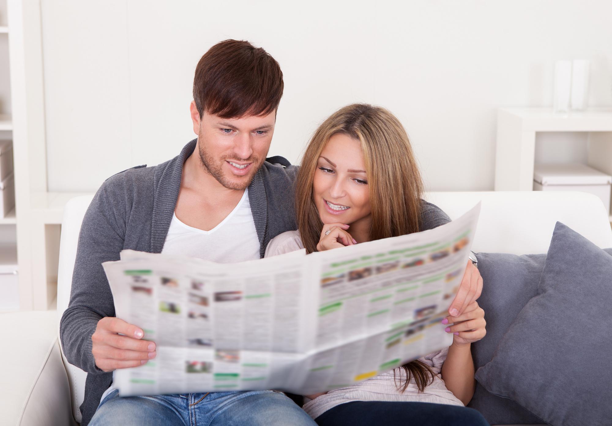 eigen krant huwelijksuitnodiging