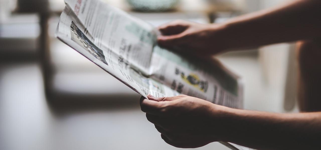 Maak je eigen krant unieke uitnodiging - Happiedays