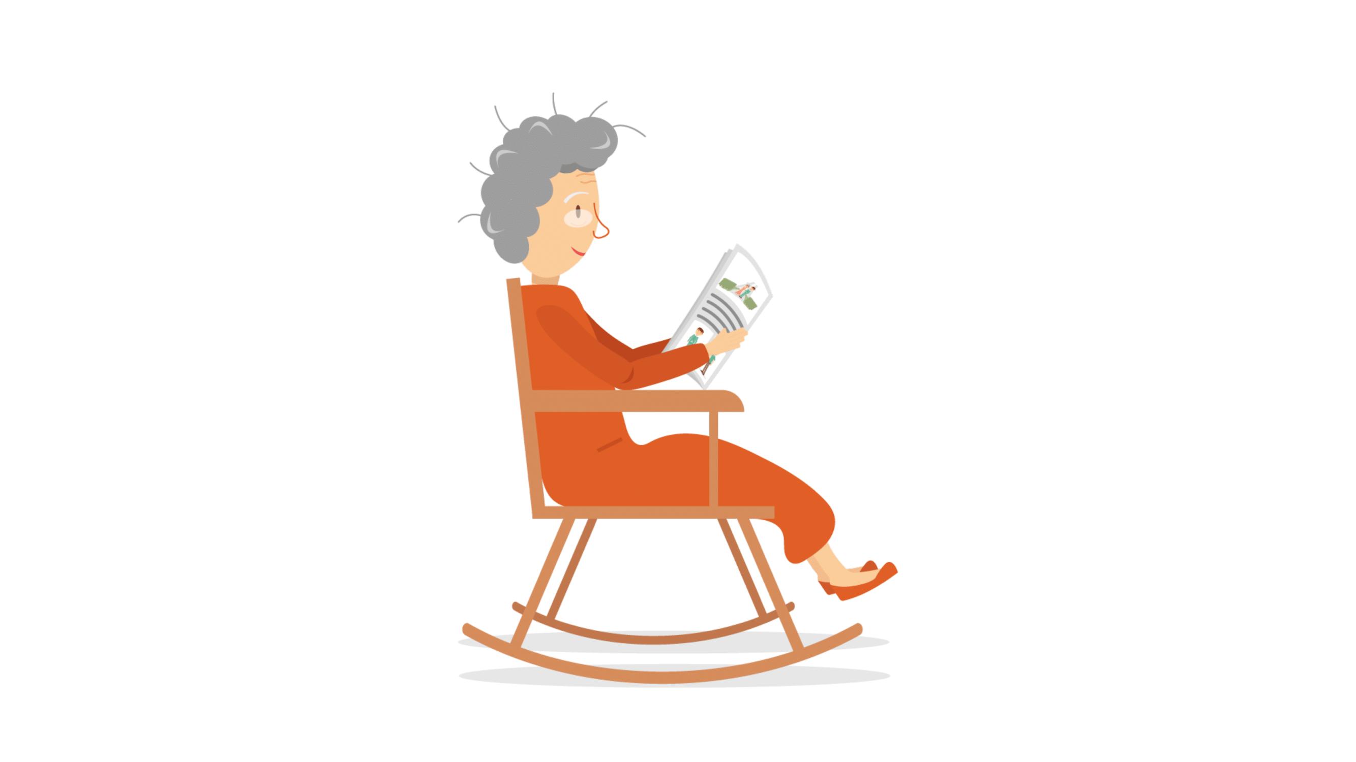 stuur een brief naar oma en opa in het woonzorgcentrum - Happiedays