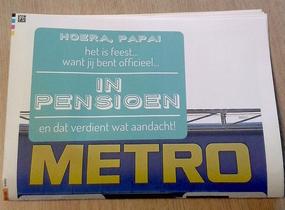 Krant voor pensioen