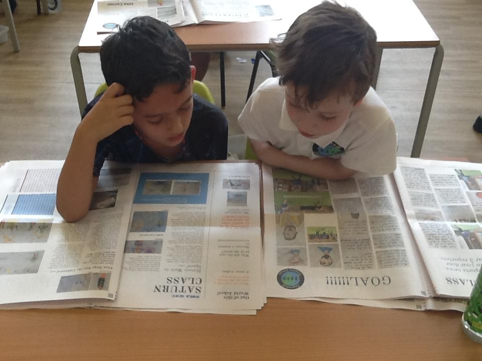 een krant maken online met de klas - Happiedays