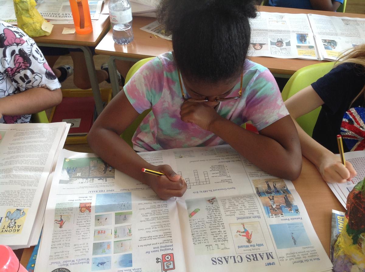 online een krant maken als schoolopdracht - Happiedays