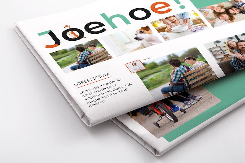 ...maak een krant met je smartphone - Happiedays