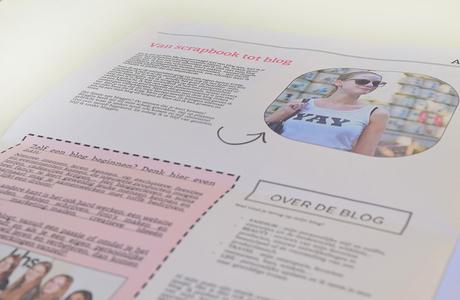 maak een eigen krant voor je blog - Happiedays