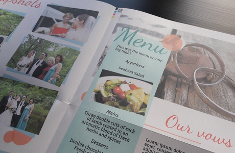 create and print your own newspaper for a wedding - Happiedays