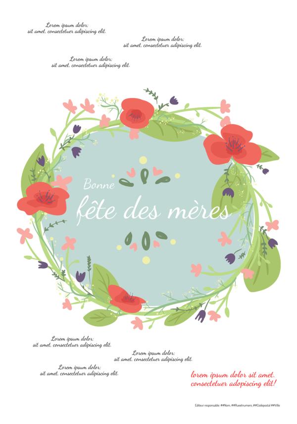 Créez votre propre journal modèle fête des mères | Happiedays