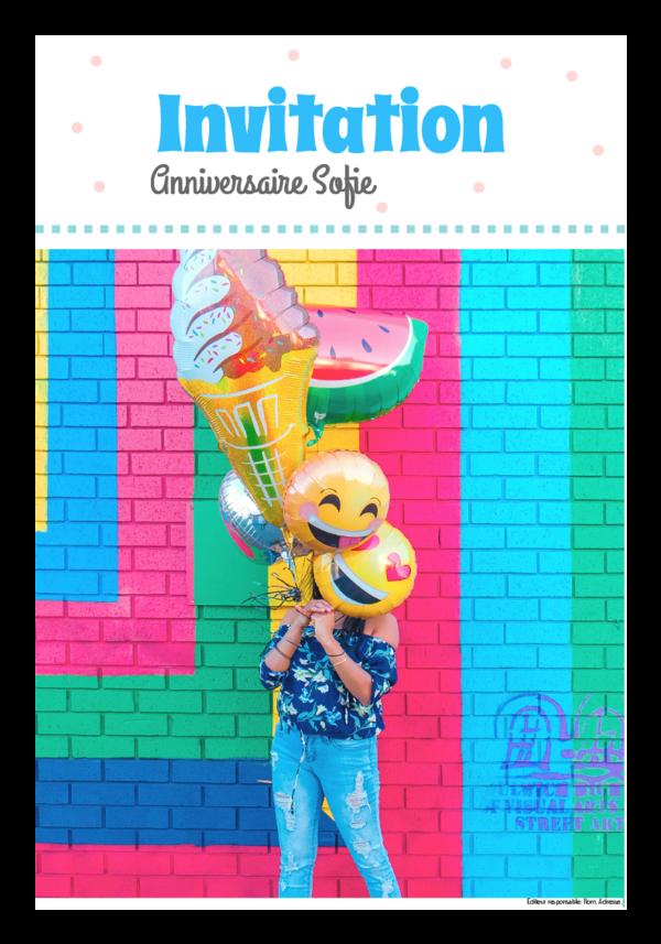 Créez votre propre journal modèle journal anniversaire | Happiedays