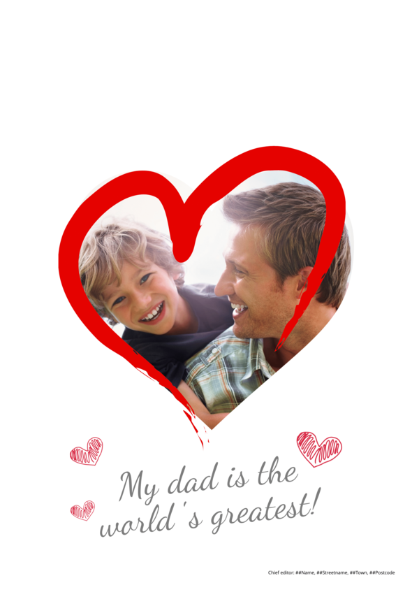 make a newspaper newspaper template fathers day - happiedays