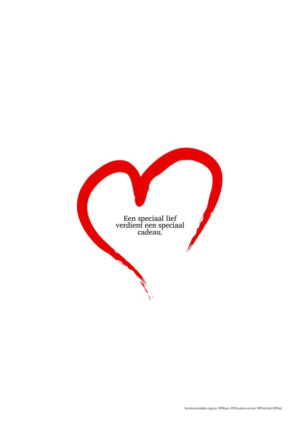 Maak je eigen krant sjabloon valentijnkrant | Happiedays