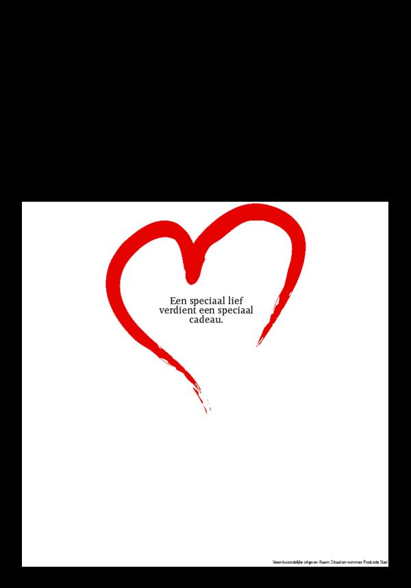 Maak je eigen krant sjabloon valentijn | Happiedays