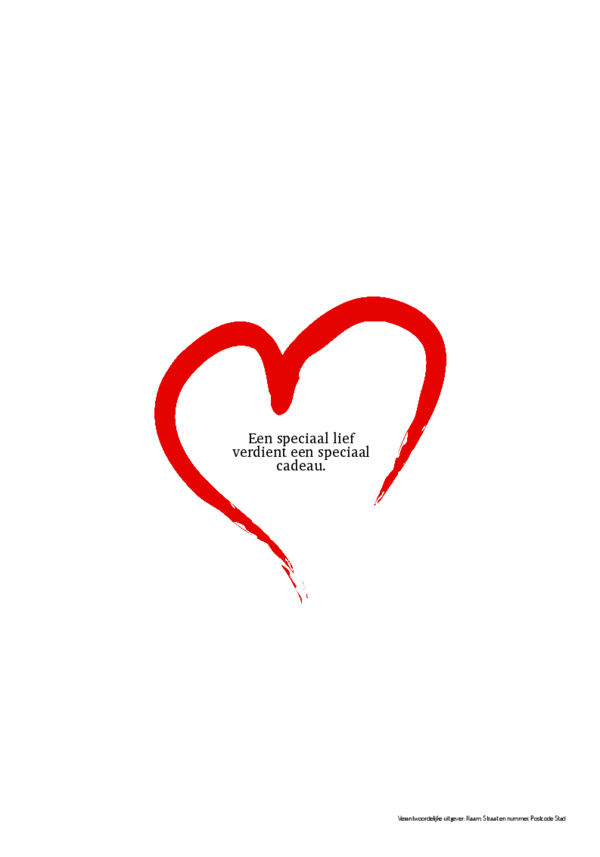 valentijnkrant