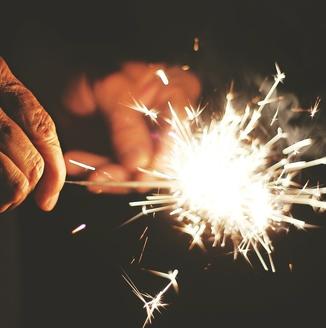 vuurwerk feest verjaardag kinderen kinderfeestje