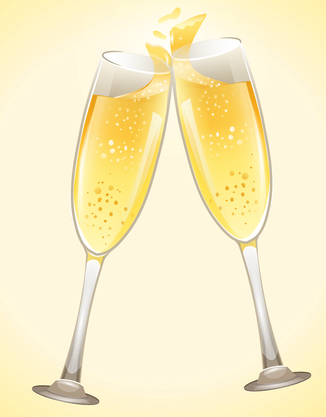 jubileum bedrijf champagne