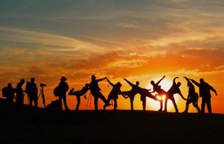 krant activiteit teambuilding